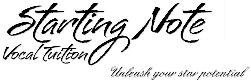 Starting Note Vocal Tuition logo - Affordable lessons in adelaide